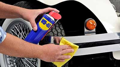 WD40 cleaning uses